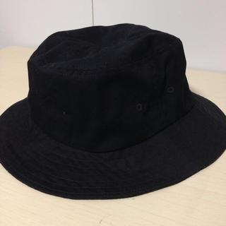 ムジルシリョウヒン(MUJI (無印良品))の無印良品 ハット 帽子 黒 ブラック(ハット)