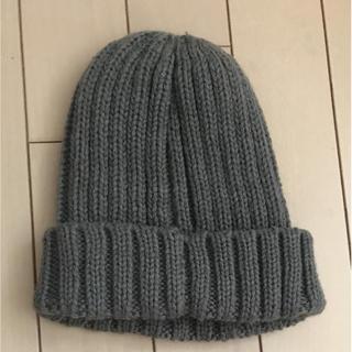 ジーユー(GU)のGU ニット帽 キッズ(帽子)