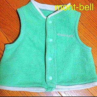 モンベル(mont bell)のmont-bell フリースベスト(その他)