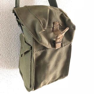 イギリス軍 ガスマスクバッグ WWII(その他)