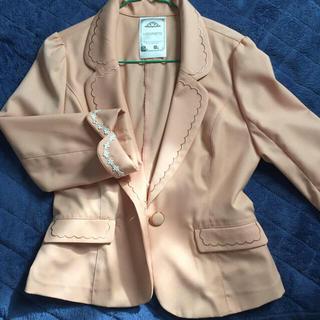 ロディスポット(LODISPOTTO)のピンクジャケット(テーラードジャケット)