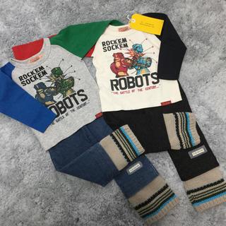 Dr.ROOKIE - 新品未使用ありブランド ロンT パンツ 2セット男の子まとめ売り 双子コーデにも