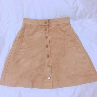 ワンアフターアナザーナイスクラップ(one after another NICE CLAUP)のスウェードスカート♥(ミニスカート)