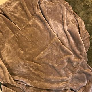ムジルシリョウヒン(MUJI (無印良品))の無印楕円こたつ用アクリル毛布・こたつ敷布団セット(こたつ)