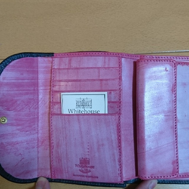 WHITEHOUSE COX(ホワイトハウスコックス)のホワイトハウスコックス三つ折り財布  S7660ホリデーライン新品 メンズのファッション小物(折り財布)の商品写真