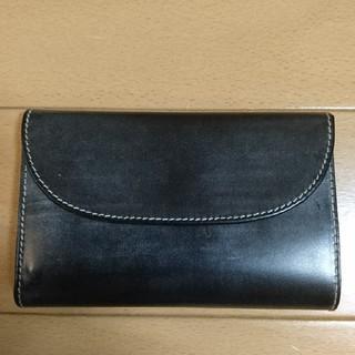 ホワイトハウスコックス(WHITEHOUSE COX)のホワイトハウスコックス三つ折り財布  S7660ホリデーライン新品(折り財布)