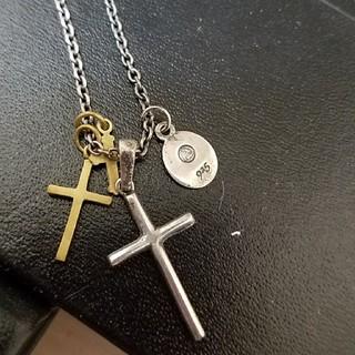 アンプジャパン(amp japan)のアンプジャパン☆クロスネックレス(ネックレス)