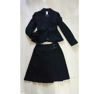 ミッシェルクラン(MICHEL KLEIN)のミシェルクラン ウール100% 単品でも可愛いスーツセットアップ(スーツ)