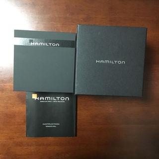 ハミルトン(Hamilton)のハミルトン ウォッチ ケース 説明書(その他)