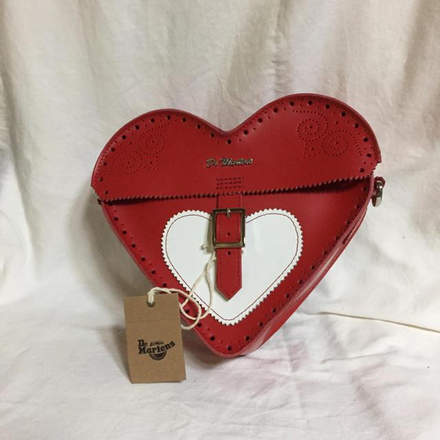 Dr.Martens(ドクターマーチン)のドクターマーチン Valentine サッチェルバッグ本革新品レア品 レディースのバッグ(ショルダーバッグ)の商品写真