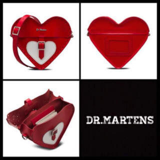 ドクターマーチン(Dr.Martens)のドクターマーチン Valentine サッチェルバッグ本革新品レア品(ショルダーバッグ)