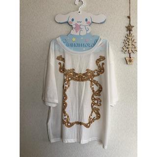 パブリックイメージ(PUBLIC IMAGE)のパブリックアイズ PUBLIC EYES Tシャツ 白(Tシャツ/カットソー(半袖/袖なし))