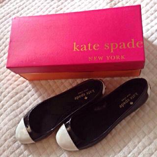 ケイトスペードニューヨーク(kate spade new york)のkate spadeラバーシューズ新品☻(ハイヒール/パンプス)