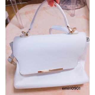 シマムラ(しまむら)の美品❤︎しまむら❤︎ハンドバッグ❤︎ショルダーバッグ❤︎白❤︎(ハンドバッグ)
