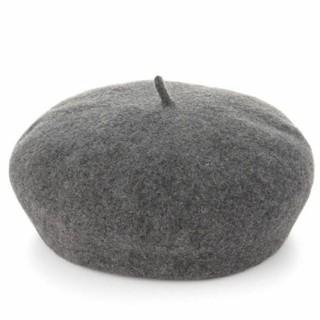 ムジルシリョウヒン(MUJI (無印良品))の無印良品 ウールベレー帽 グレー (ハンチング/ベレー帽)