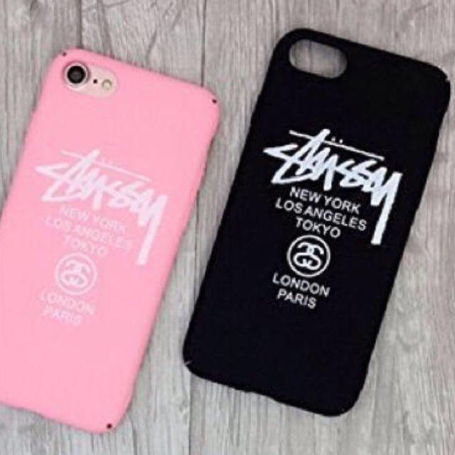STUSSY - stussy iPhone7/iphone8ケース ブラックの通販 by monza's ...