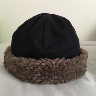 ネストローブ(nest Robe)のmature ha マチュアーハ ボア帽子(ニット帽/ビーニー)