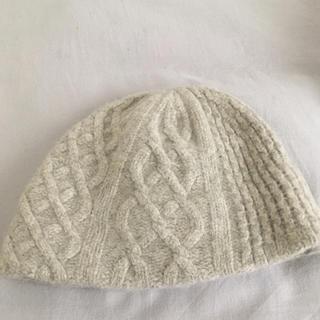 ネストローブ(nest Robe)のmature ha マチュアーハニット帽(ニット帽/ビーニー)