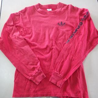 アディダス(adidas)の古着 adidas長袖TシャツUSA製ロンT XLサイズ(Tシャツ/カットソー(七分/長袖))