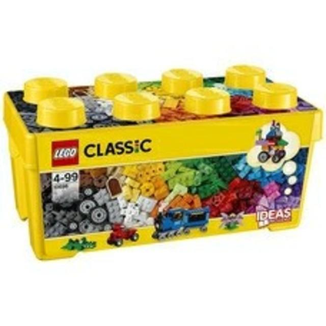 レゴ クラシック 10696 黄色のアイデアボックス <プラス> キッズ/ベビー/マタニティのおもちゃ(積み木/ブロック)の商品写真