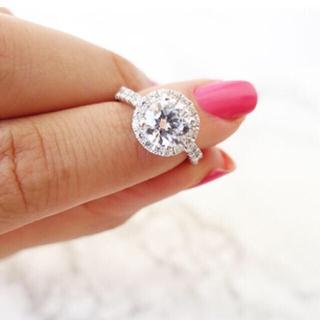 ♡様専用 指輪 人工ダイヤモンド  (リング(指輪))