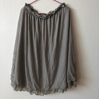 ジーユー(GU)のチュールスカート 150(スカート)