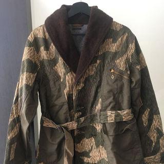 キャピタル(KAPITAL)の新品 KAPITAL キャピタル 迷彩 キャンバス うー ジャケット コート(ミリタリージャケット)