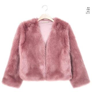チュー(CHU XXX)のchuu  オープンファージャケット(毛皮/ファーコート)