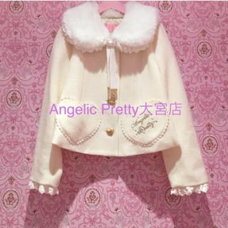 アンジェリックプリティー(Angelic Pretty)のハートポケットショートコート(ピーコート)