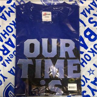 ヨコハマディーエヌエーベイスターズ(横浜DeNAベイスターズ)の未開封 ベイスターズ『OUR TIME IS N.O.W.』Tシャツ サイズ:S(Tシャツ/カットソー(半袖/袖なし))