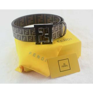 フェンディ(FENDI)のフェンディ ベルト中古 レザー メンズ 105cm 未使用 FENDI 11(その他)
