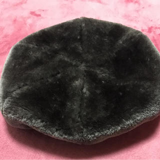 バックナンバー(BACK NUMBER)のモコモコベレー帽(ハンチング/ベレー帽)
