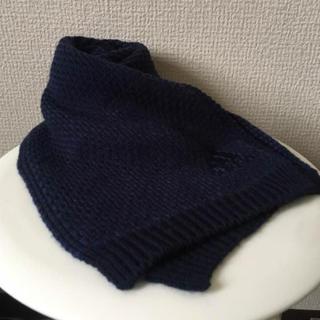 アディダス(adidas)のアディダス☆ネイビー マフラー(マフラー)