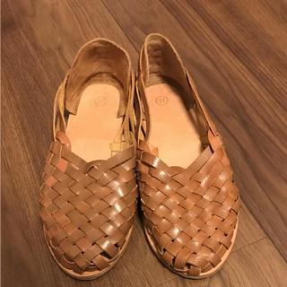 アルカリ(alcali)の【美品】alcali アルカリ  サンダル 靴 37(サンダル)