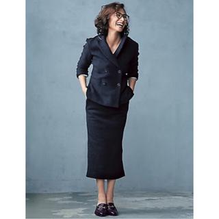 デミルクスビームス(Demi-Luxe BEAMS)のOggi12月号掲載AK+1 by EFFE BEAMS ブークレタイトスカート(ひざ丈スカート)