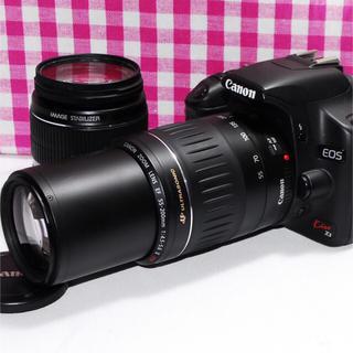 キヤノン(Canon)の❤訳あり大特価❤Canon Kiss x3 大迫力のダブルズーム♪(デジタル一眼)