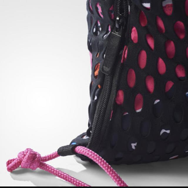 adidas(アディダス)のらららら様専アディダス ナップサック メッシュタイプ 2個 レディースのバッグ(リュック/バックパック)の商品写真