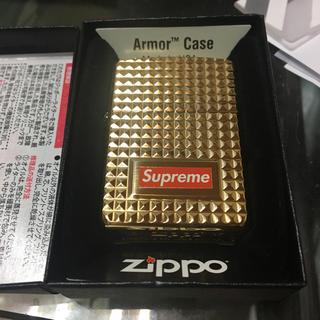 シュプリーム(Supreme)のSupreme Zippo GOLD 新品 未使用(タバコグッズ)