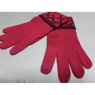 コーチ(COACH)のCOACH手袋「スマホ対応」値下げ(手袋)