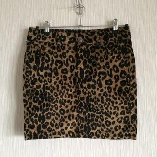 アベイル(Avail)の美品♡レオパード柄 スカート(ミニスカート)