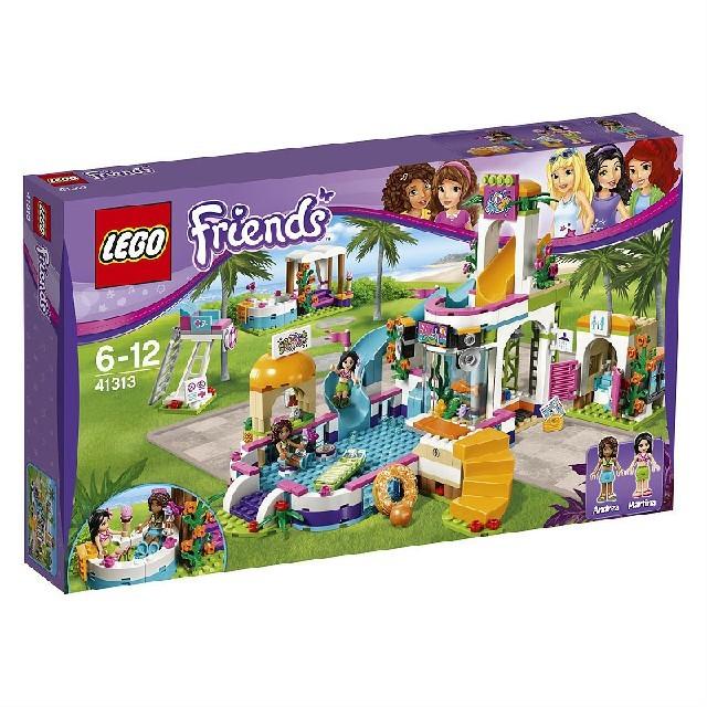 レゴ フレンズ 41313 ドキドキウォーターパーク キッズ/ベビー/マタニティのおもちゃ(積み木/ブロック)の商品写真