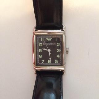 f92f518f5d アルマーニ(Emporio Armani) 腕時計(レディース)(レザー)の通販 14点 ...