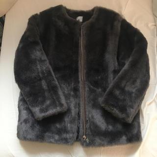 スタイルナンダ(STYLENANDA)のfake fur coat(毛皮/ファーコート)
