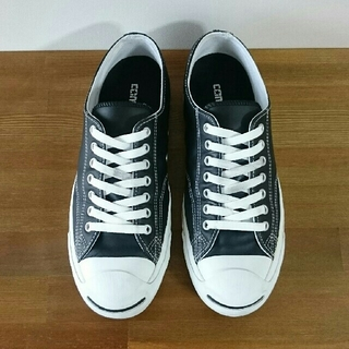 affc74f0778d CONVERSE - converse jack purcell lea blackの通販 by cm52's shop ...