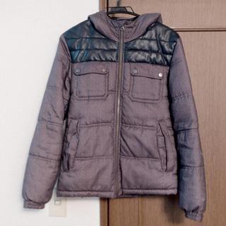 ジーユー(GU)のGU メンズ 中綿ダウンジャケット Sサイズ(ダウンジャケット)