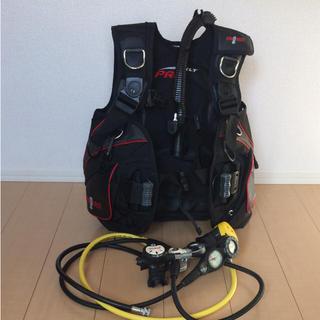 アクアラング(Aqua Lung)のダイビング 重器材 レギュレーター BCD セット(マリン/スイミング)
