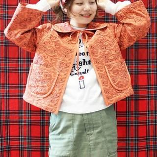 ドットアンドストライプスチャイルドウーマン(Dot&Stripes CHILDWOMAN)のCHILD WOMAN チャイルドウーマン キルティングショートジャケット(その他)