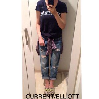 カレントエリオット(Current Elliott)のCURRENT/ELLIOTT デニム(デニム/ジーンズ)