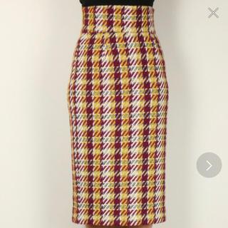 デイシー(deicy)のDEICY スカート me チェックタイトスカート(ひざ丈スカート)