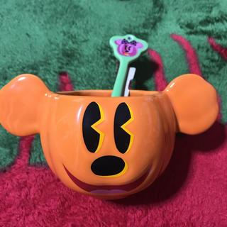 ディズニー(Disney)のディズニーランド  ミッキー ハロウィン限定 スープ用 カップ(キャラクターグッズ)